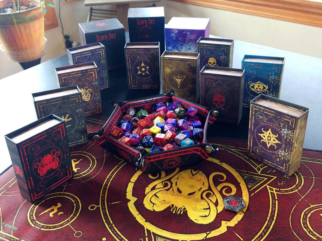Grimspell Gaming Elder Dice That Are Infinitely Awesome